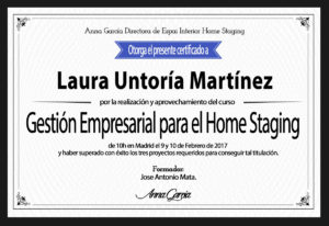 Titulación Home Staging